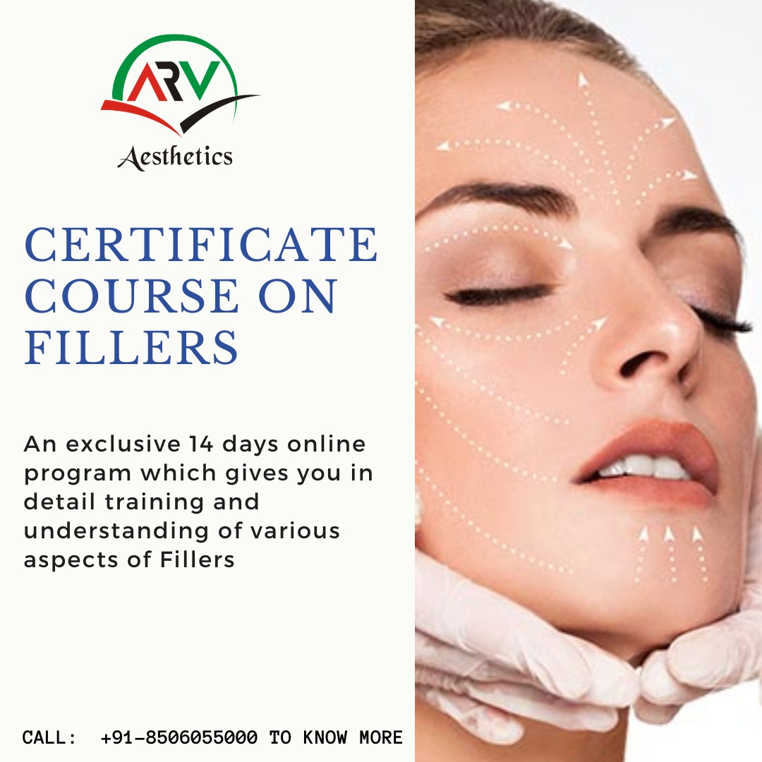 CERTIFICATE COURSE ON FILLERS
